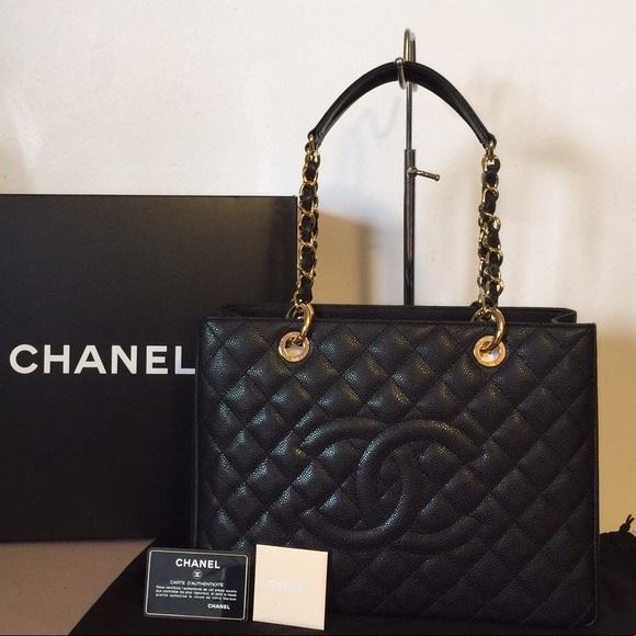 baa087ee4059 CHANEL Handbags - Authentic Chanel Grand Shopper Tote